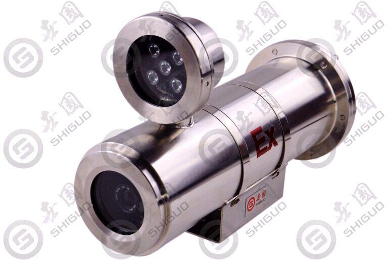 枪机带灯 防爆定焦摄像机 世国科技  安防协会推荐产品