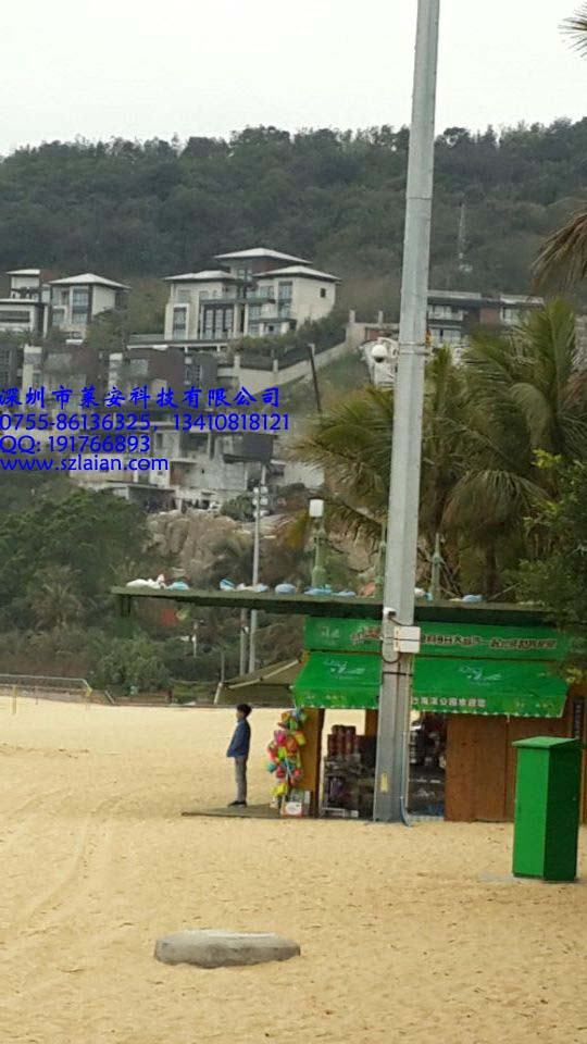 生态旅游度假区无线监控,远距离视频传输器