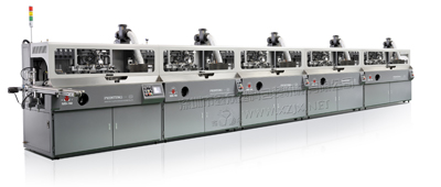 鑫众丝印机烫金机组装机