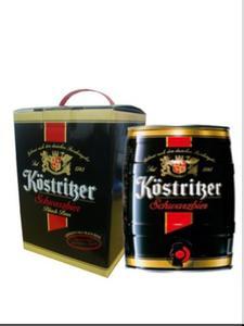 长期批发 德国啤酒 卡力特黑啤酒5L桶装 60元/箱
