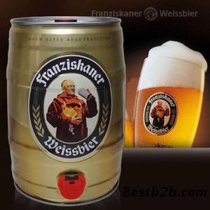 黑龙江 德国啤酒 教士纯麦啤酒5L桶装  60元/桶