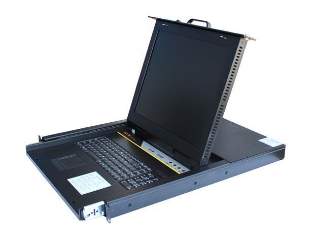 梟杰科技19寸上架工業KVM19寸屏KVM產品