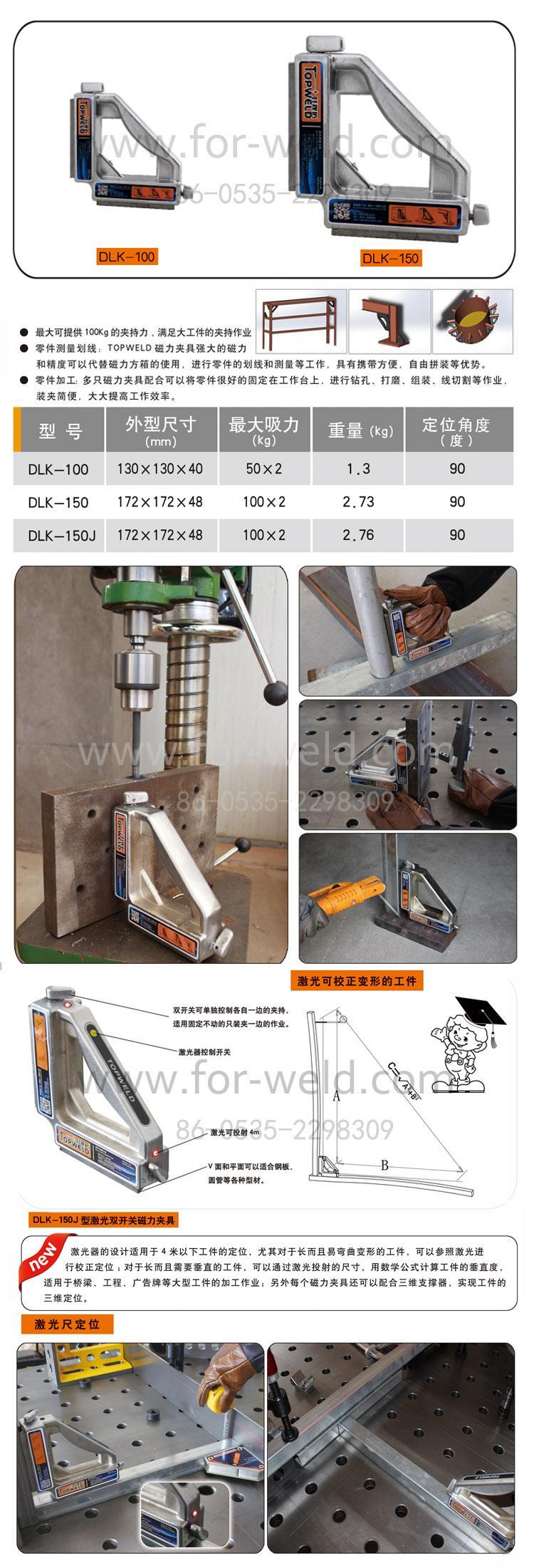 廠家直銷 供應 TOPWELD好焊匠 磁力焊接夾具,磁力角尺