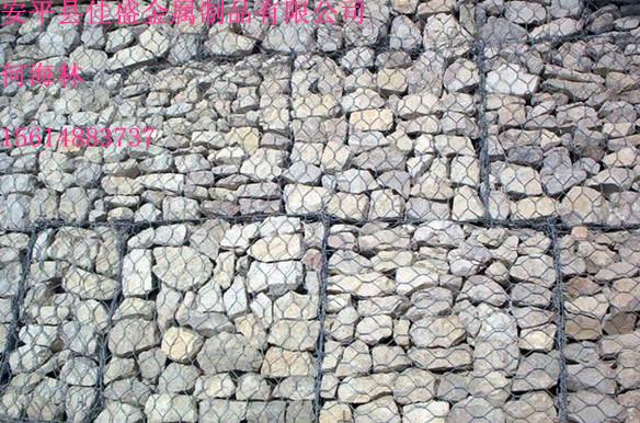 南京加筋石籠網  石籠網堤坡防護  涂塑石籠網箱