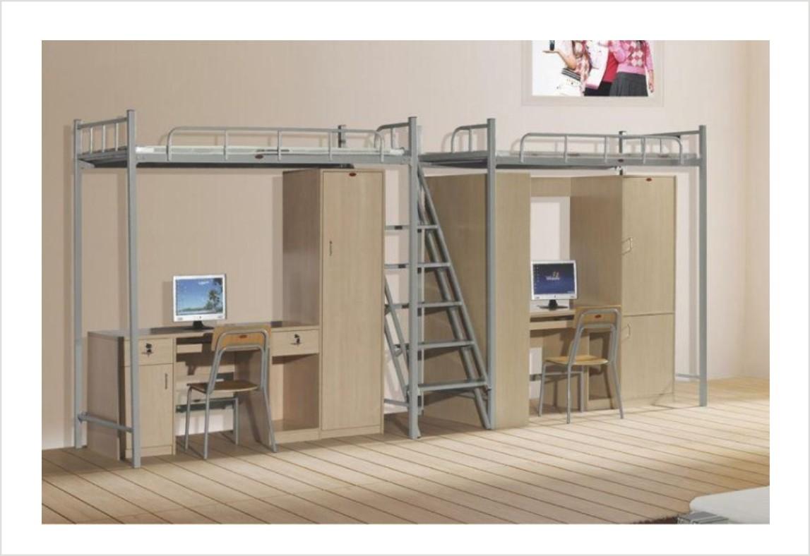 直销大学生公寓床 公寓床系列 铁床公寓床图片