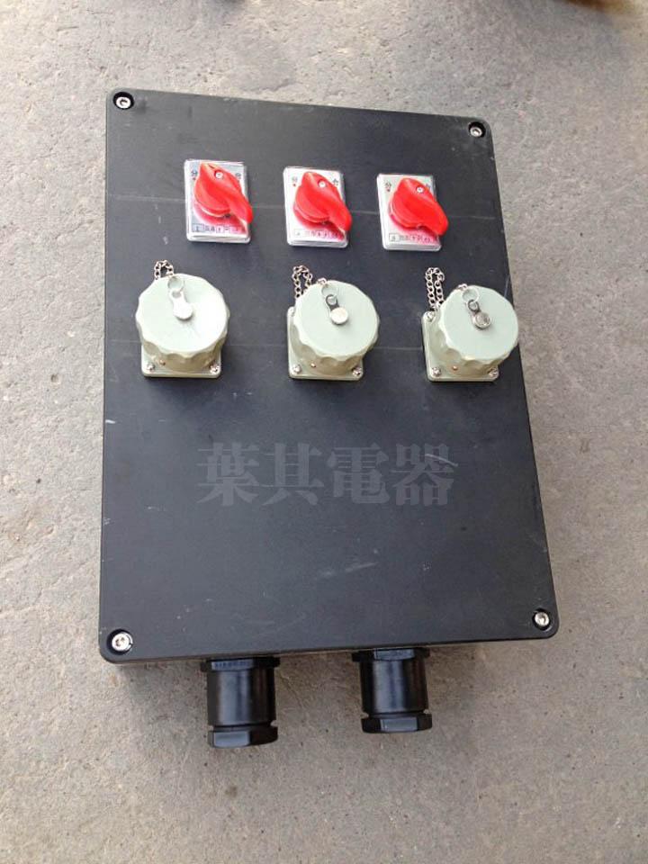 BCS 防爆插座箱 防爆檢修電源插座箱