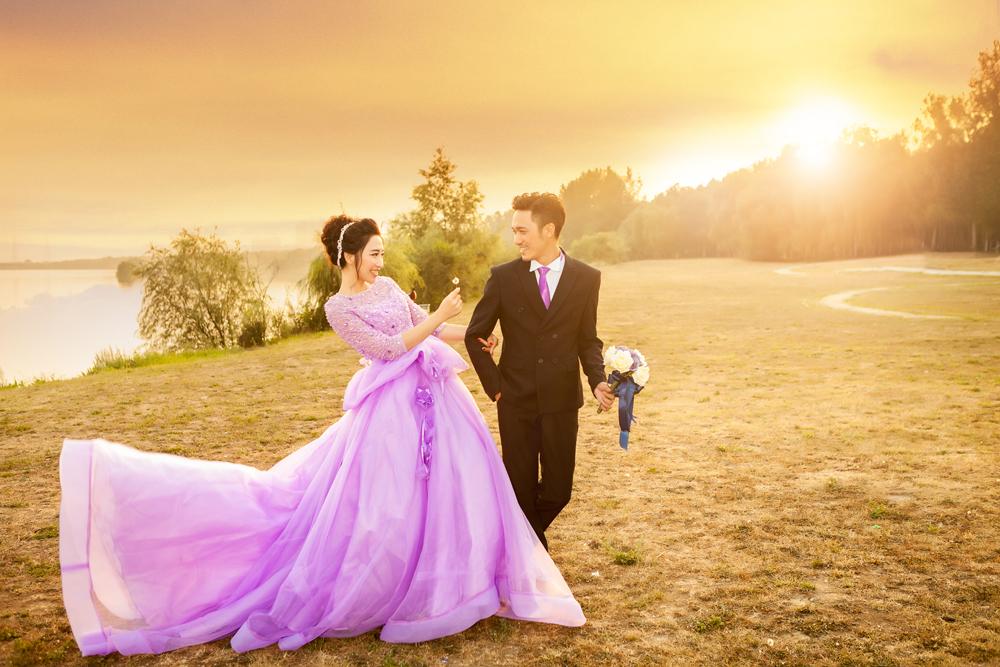 沈阳欧式婚纱摄影,沈阳中式婚纱照