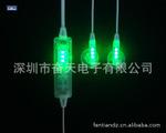 专业带LED灯立体声有线耳塞