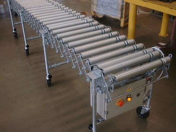 昆山易華滾筒伸縮機滾筒伸縮機的用途滾筒伸縮機的性能特點