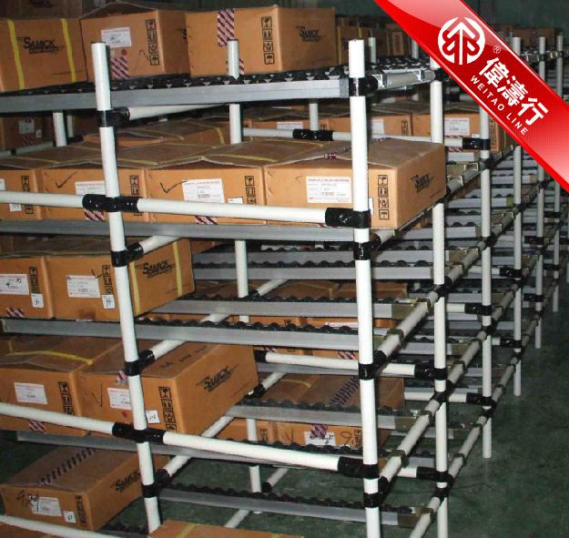 深圳專業生產【線棒貨架/精益管貨架】供應商—偉濤行