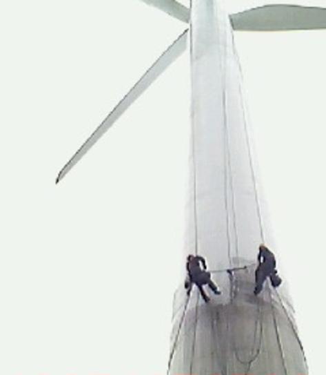 风力发电机塔筒防腐