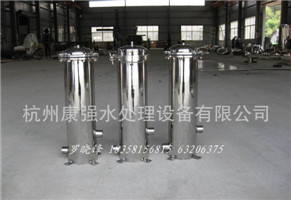 过滤器厂家 抱箍式不锈钢精密(保安)过滤器 高效精密杂质过滤器