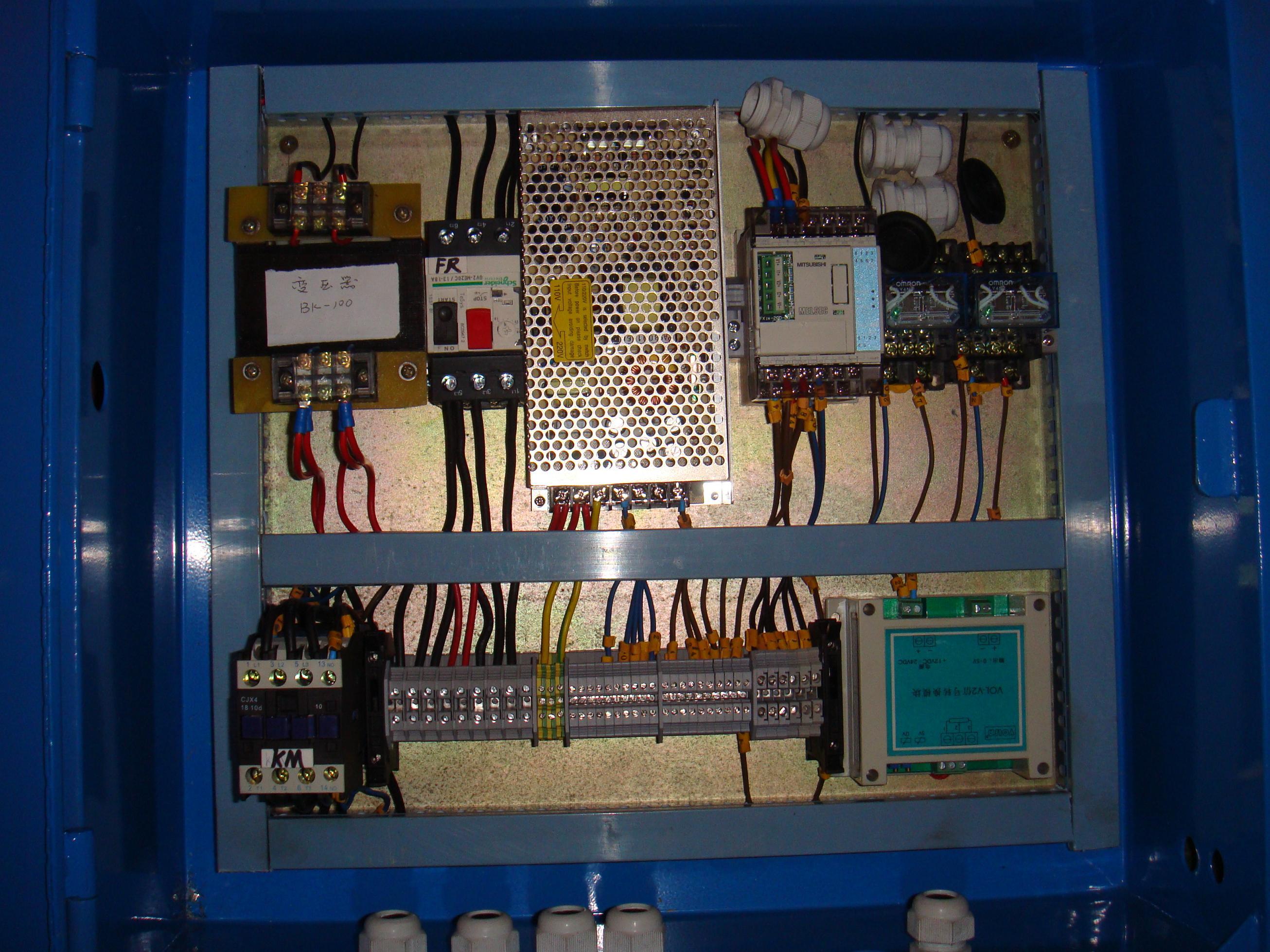 长沙自动化电控箱 湖南电控箱设计制作 plc编程 人机界面