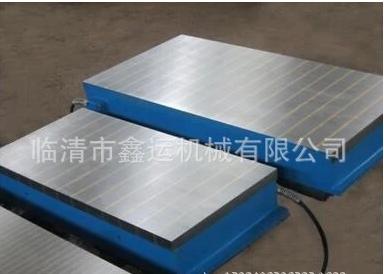 供应武汉鑫运机械铣床电磁吸盘X91-500*1000