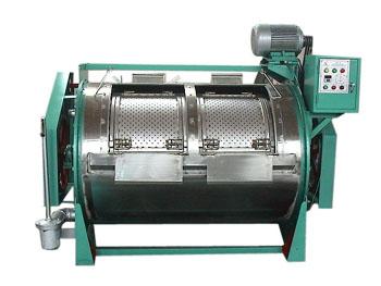 福建漳州食品廠用50KG滾筒工業洗衣機