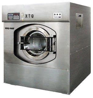 云南醫院洗衣房用100KG全自動不銹鋼工業洗脫機