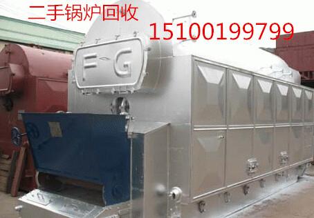 赵县旧锅炉拆除蒸汽锅炉回收