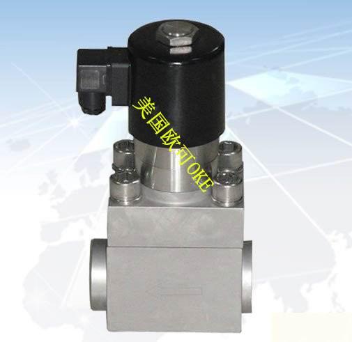 进口管接式高压电磁阀图片