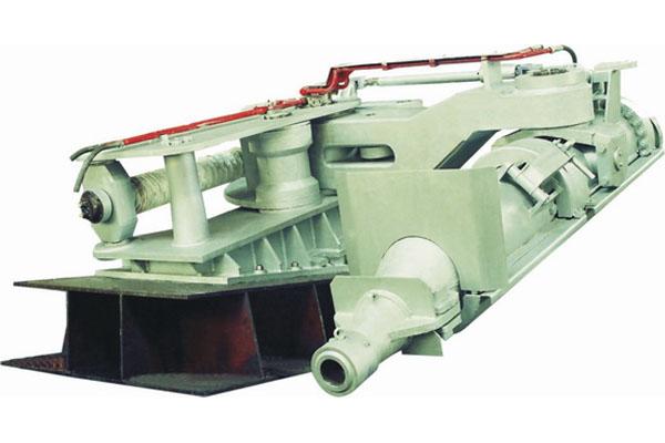 高炉液压泥炮的正常工作图片