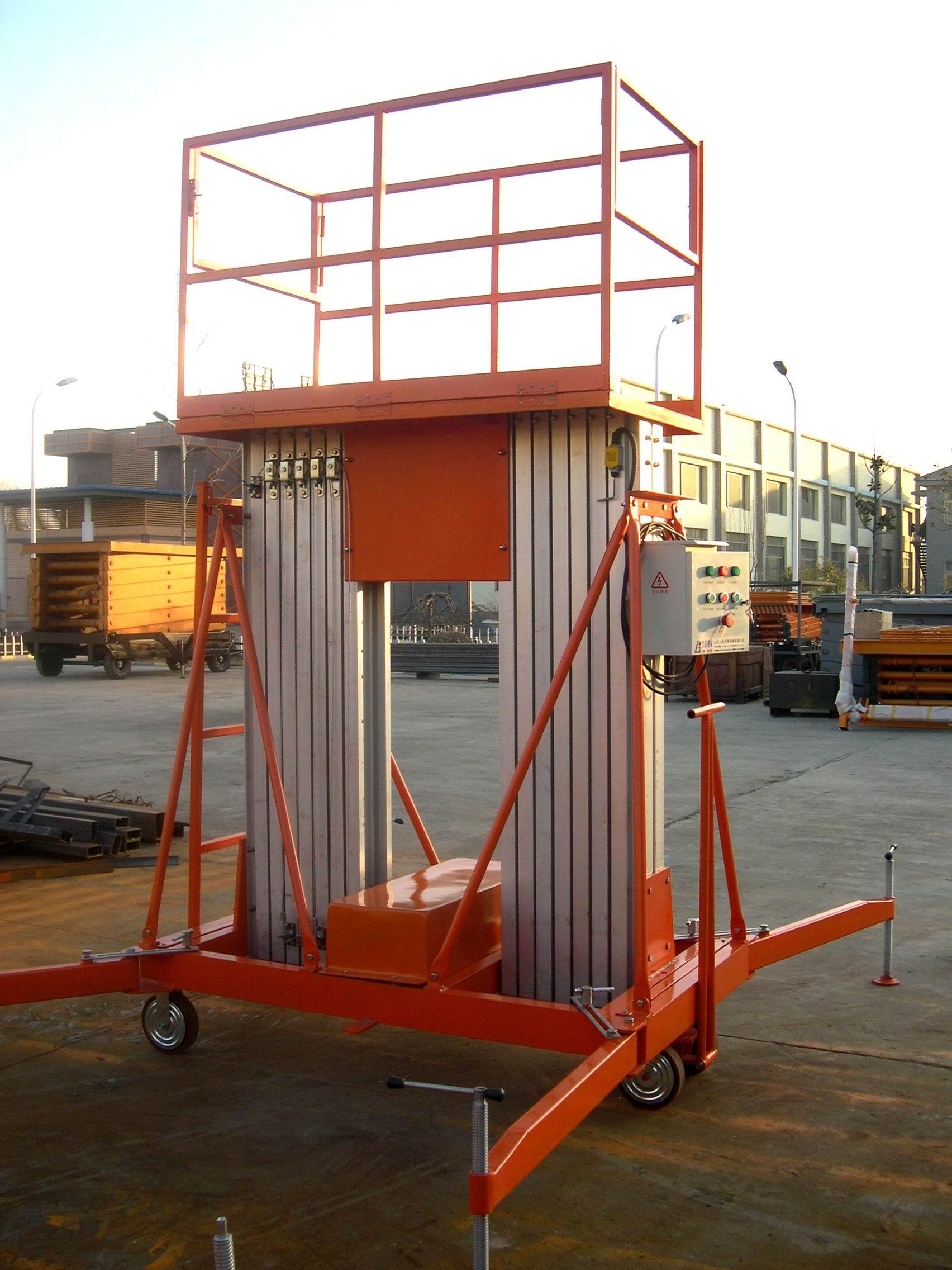 双柱铝合金升降机 山东铝合金升降机厂家价格 - 中国供应商