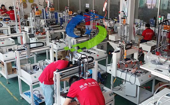 自動擰螺絲機廠家對企業的作用