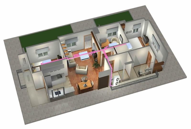 家用中央空調——智尊•S系列R22大1匹超薄卡機