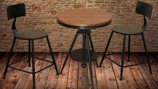 商品名称:咖啡厅桌椅 升降桌子椅子靠背一 商品编号:QO-ZY-0072 商品品牌:七欧 商品材质:铁艺 商品重量:28kg 型号: QO-ZY-0072 风格: 欧式田园 体积: 0.4m3 风格: 欧式风格 材料说明: 防腐防锈金属+高温烤漆+进口实木 空间参考: 咖啡店桌椅 客厅桌椅 阳台桌椅 户外桌椅 庭院桌椅 颜色: 黑色 包装件数: 2件 副材质: 生铁 主材质: 进口实木 规格: 桌子:550*550*600-800mm(升降) 椅子:350*350*700mm 可否拆装: 不可拆装 基本配