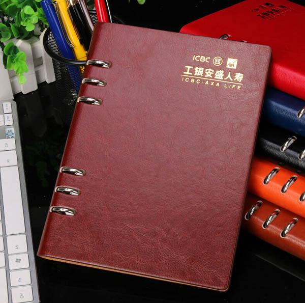 合肥笔记本定做|活页笔记本定制免费排版