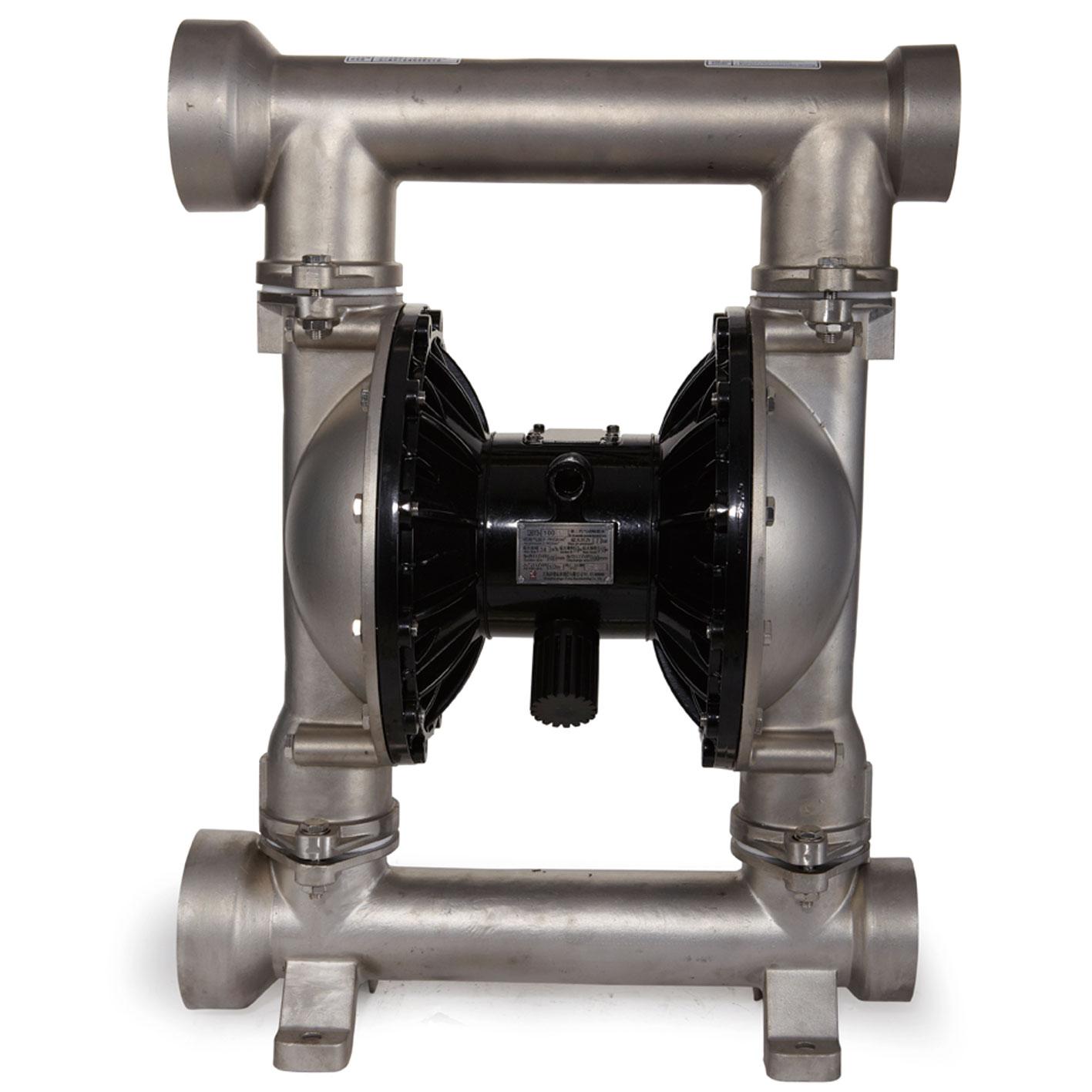 qby3-25a不锈钢气动隔膜泵型号材质参数图片