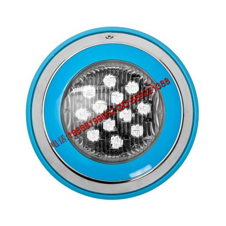 防水泳池PC塑料泳池燈 par56 led池底燈泳池燈水下燈水底燈