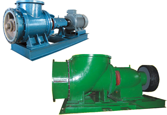 JXF型夾板式氟材軸流泵
