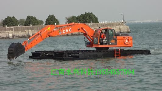 今年的水利任务以水陆两用挖掘机的业务多些