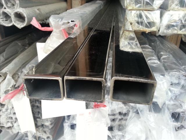 304/201不銹鋼矩形管100×650×1.8不銹鋼扁管價格