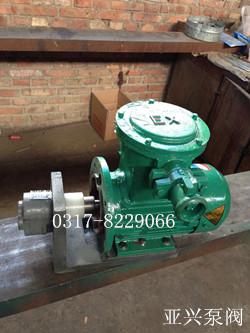 河北亚兴生产各种型号cb-b液压齿轮泵图片