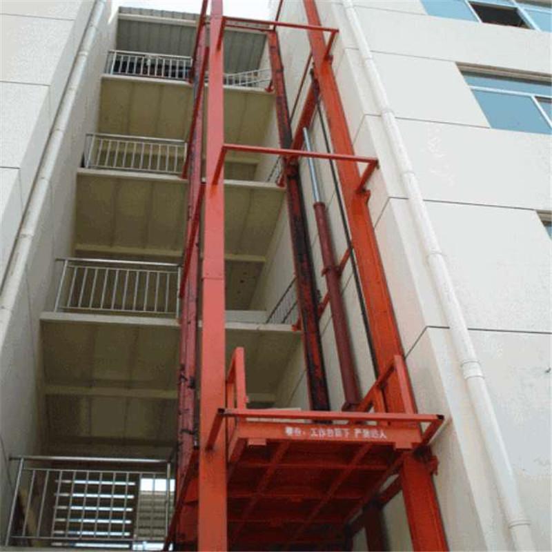 厂家直销导轨式升降货梯 液压升降机 固定式升降平台图片