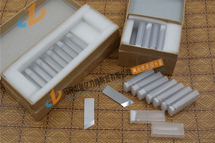 V槽机钨钢刀片 彩盒、礼品盒、灰纸板开槽机刀片 纸板钨钢开槽刀