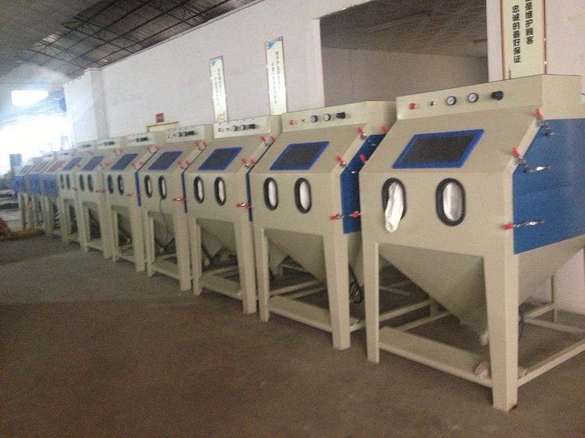 Manual sandblasting machine Made