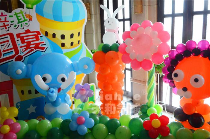许昌禹州气球装饰培训魔法气球造型长条气球编织批发