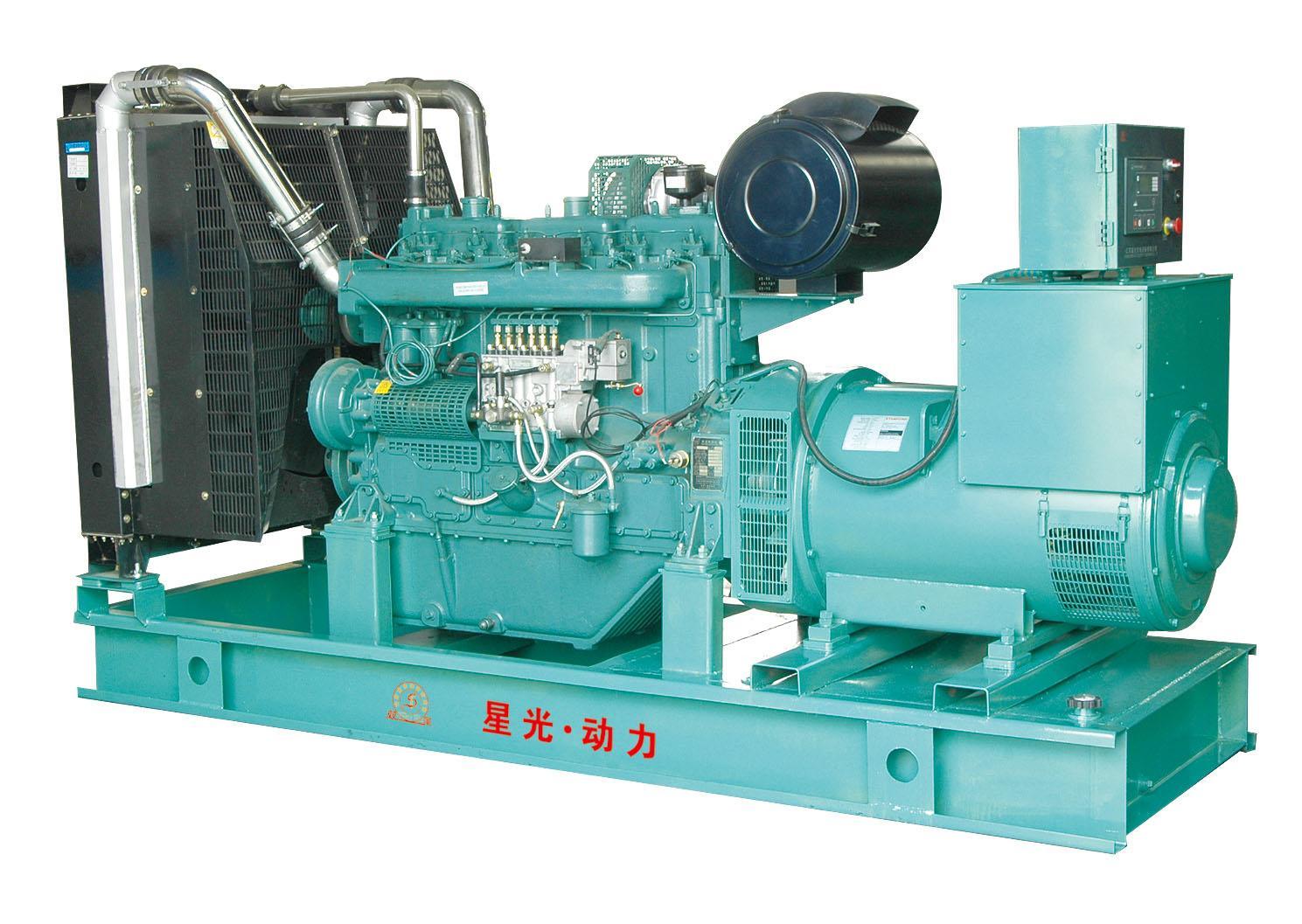柴油发电机产生裂纹的修补方式?