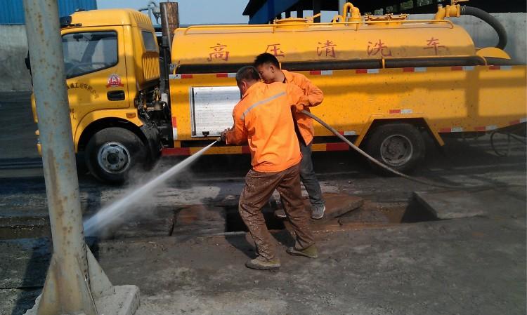 西青高压清洗大型管道清理污水沉淀池