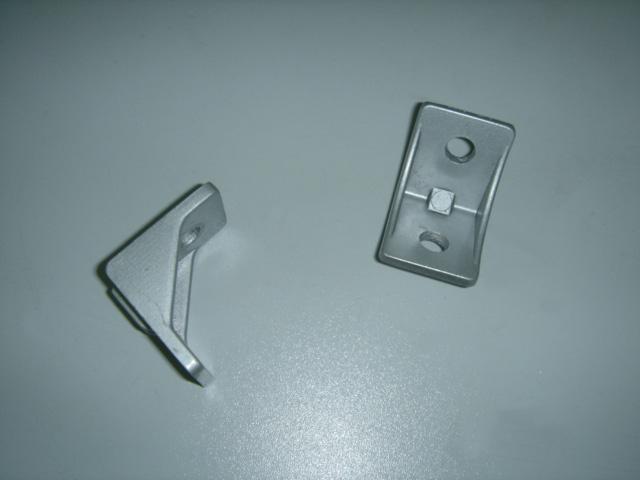 鋁型材鋁角碼配件406080圓孔安裝角件促銷深圳發貨