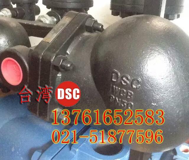 供应台湾DSC铸钢浮球式疏水阀FS2