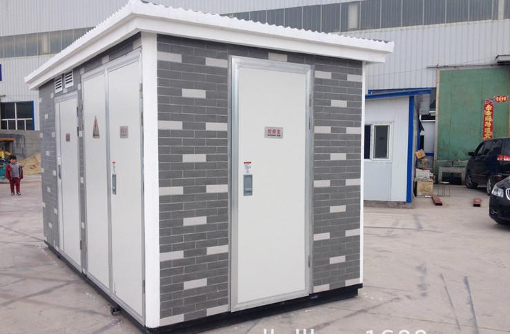 电气 高压电器 >箱式变电站ybw-12/350kva欧式户外预装式变电所上海启图片