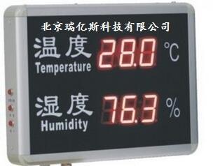 公司生产工业用温湿度显示器,数显温湿度仪,型号:RYS-YD-HT818A