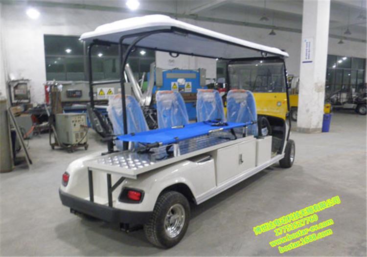 供應博世達BSD2062H 4座電動醫護擔架車 鄭州電動救護車