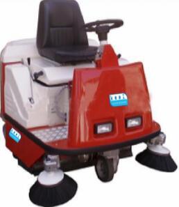 驾驶式真空扫地机可充电边刷主刷配合使用效率高