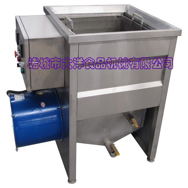 炸鸡叉油炸机械,小型油水分离油炸锅