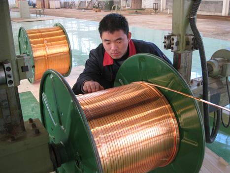 高精紫銅扁線廠家,TU2無氧紫銅扁線價格