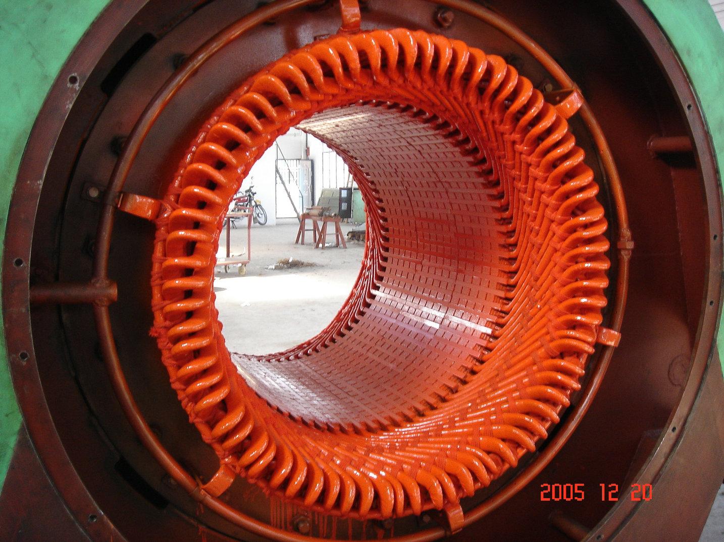 发电机定子维修