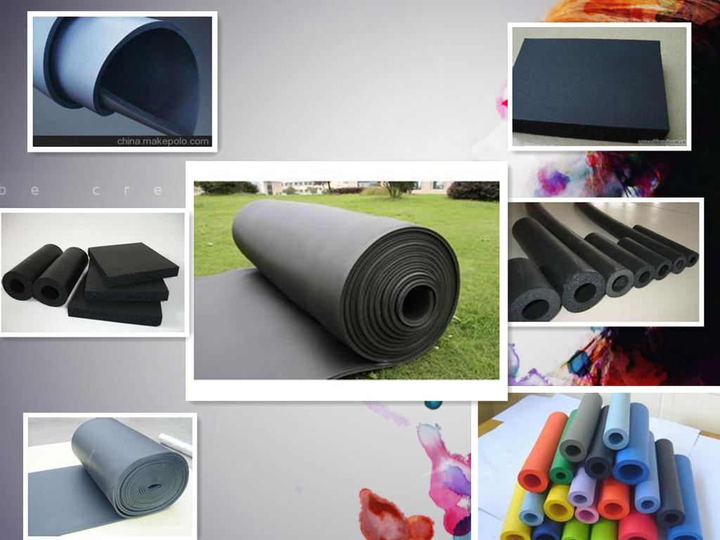 橡塑板 隔热橡塑海绵板生产厂家